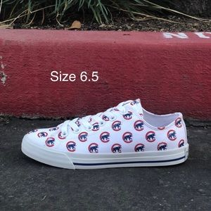 Row One Chicago Cubs Victory Sneakers| Sz 6.5